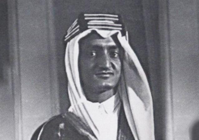 الأمير فيصل بن عبد العزيز في موسكو، عام 1932