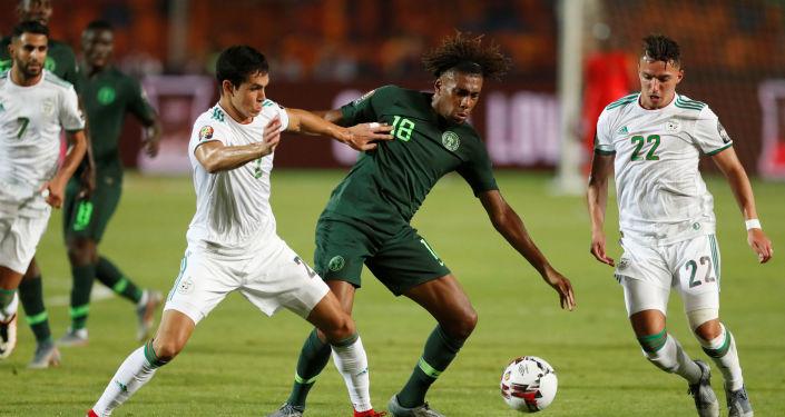مباراة الجزائر ونيجيريا في نصف نهائي أمم أفريقيا 2019