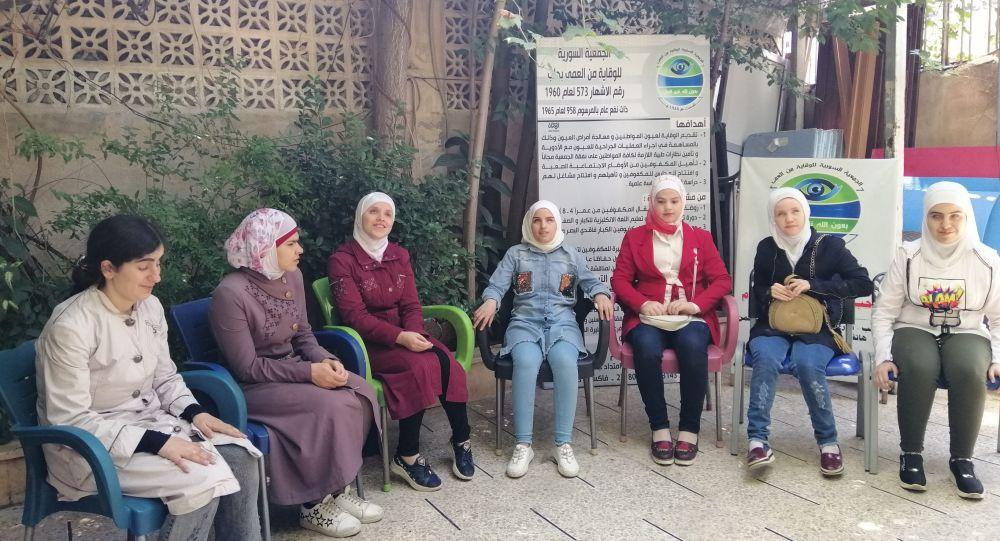 رهام سليمان، فتاة حلبية كفيفة تنال البكالوريا، حلب