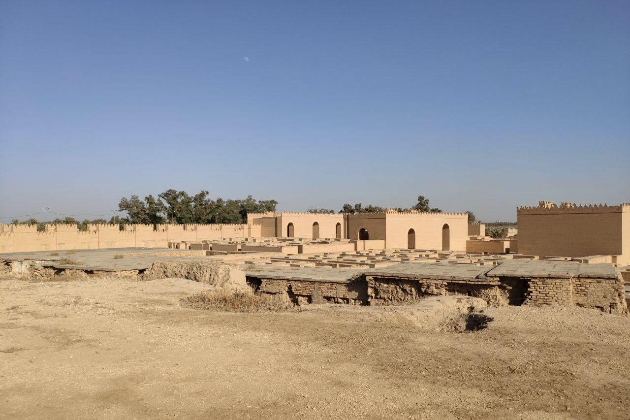 بوابة الإله وسط العراق