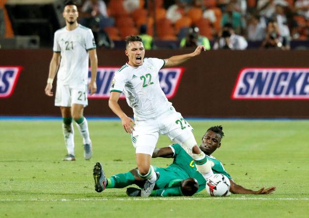 إسماعيل بن ناصر في نهائي كأس أمم أفريقيا 2019 أمام السنغال