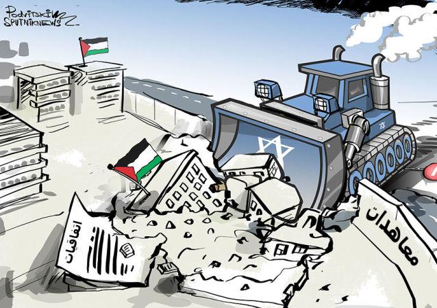كيف تتعامل إسرائيل مع الاتفاقيات الموقعة مع الجاني الفلسطيني