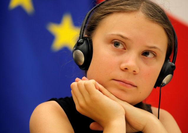 الناشطة السويدية جريتا تونبرج
