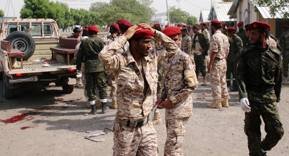 الهجوم على معسكر الجلاء في عدن - اليمن - الجيش اليمني