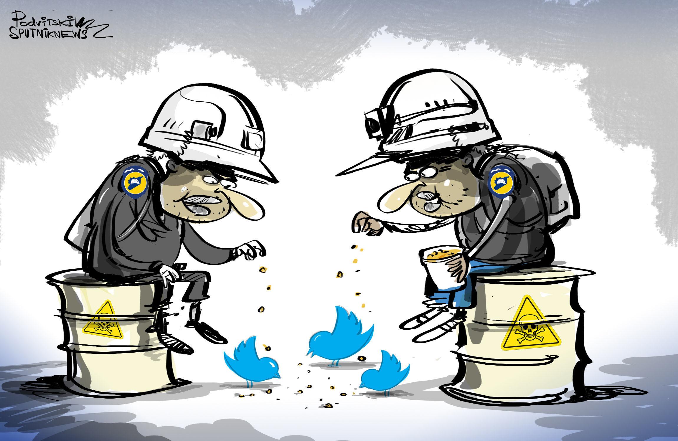 تويتر يحظر حساب السفارة الروسية في سوريا
