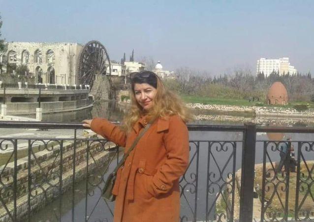 السورية أحلام الحيلوني