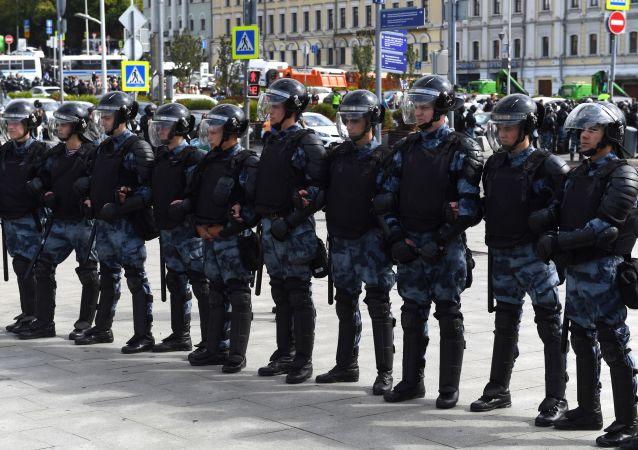 شرطة موسكو