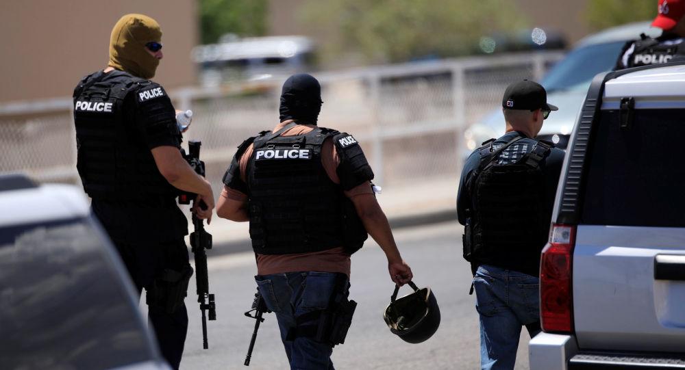 الشرطة الأمريكية في تكساس