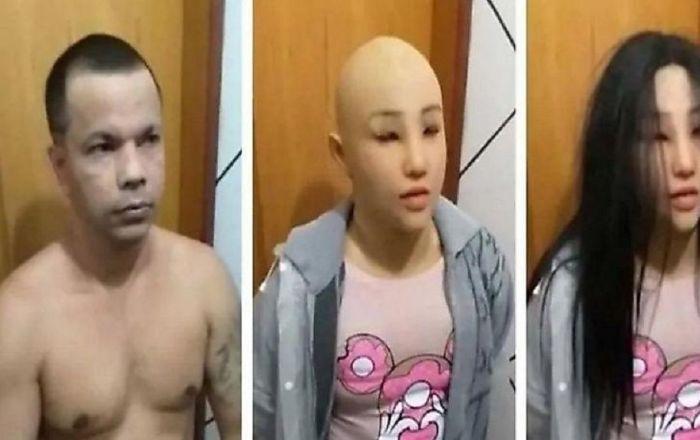 نتيجة بحث الصور عن زعيم عصابة يتنكر في هيئة ابنته للهروب من السجن