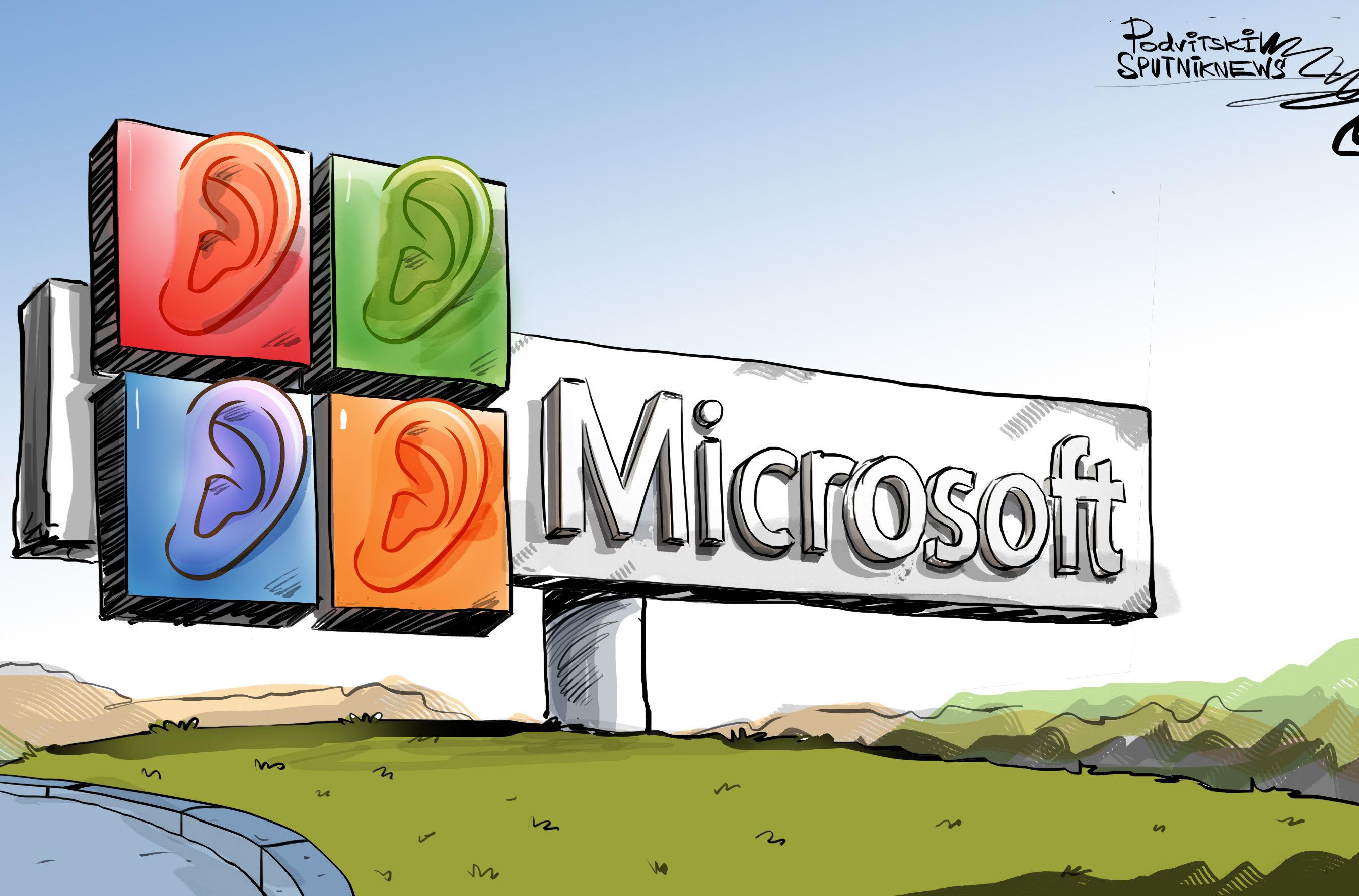 احذر مايكروسوفت تتنصت عليك