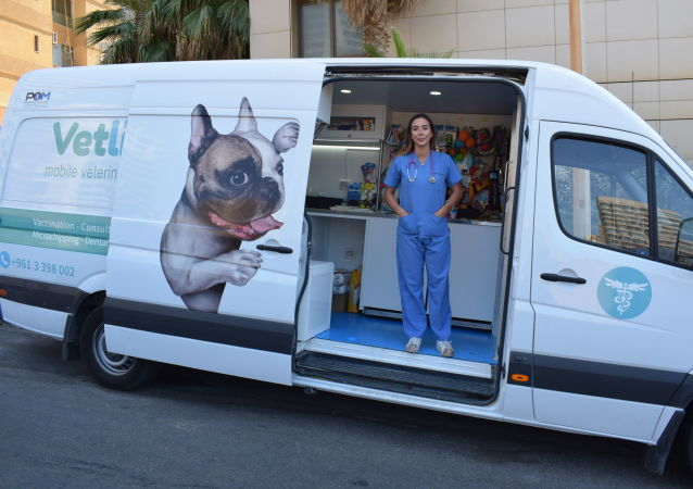 الطبيبة البيطرية اللبنانية ماريا المعلم