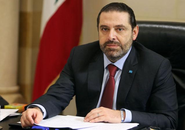 رئيس وزراء لبنان سعد الحريري