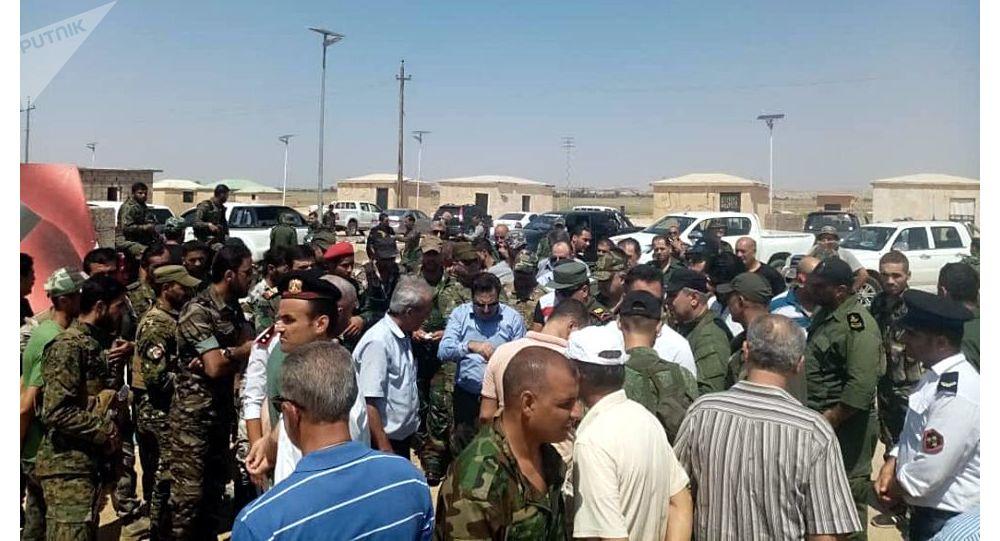 استعدادات حكومية سورية لافتتاح معبر البوكمال - القائم بين العراق وسوريا