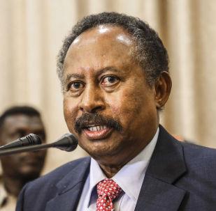 رئيس الوزراء السوداني عبد الله حمدوك، السودان 21 أغسطس/ آب 2019