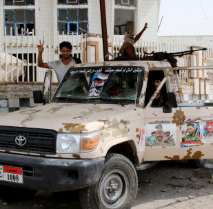 قوات المجلس الانتقالي الجنوبي، عدن، اليمن 31 أغسطس 2019
