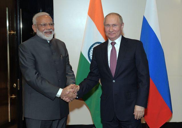زيارة رئيس وزراء الهند إلى روسيا