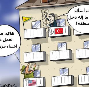أمركيا حول قلق تركيا بخصوص المناطق الآمنة في سوريا