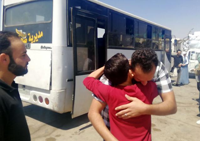1.2 مليون اجتازوا معبر نصيب السوري الأردني بينهم 28 ألف لاجئ سوري