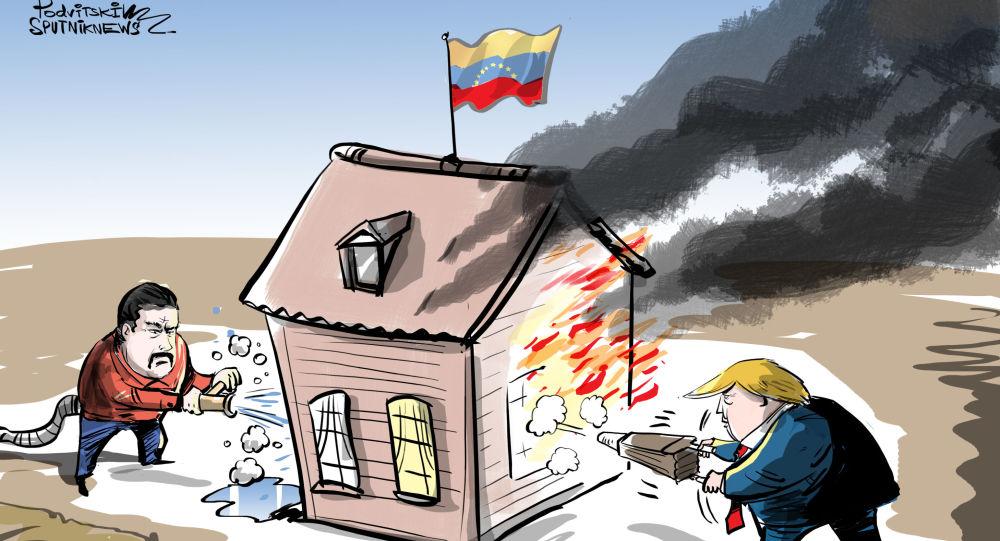 """أمريكا تنشط """"ميثاق ريو الدفاعي"""" على ضوء الوضع في فنزويلا"""