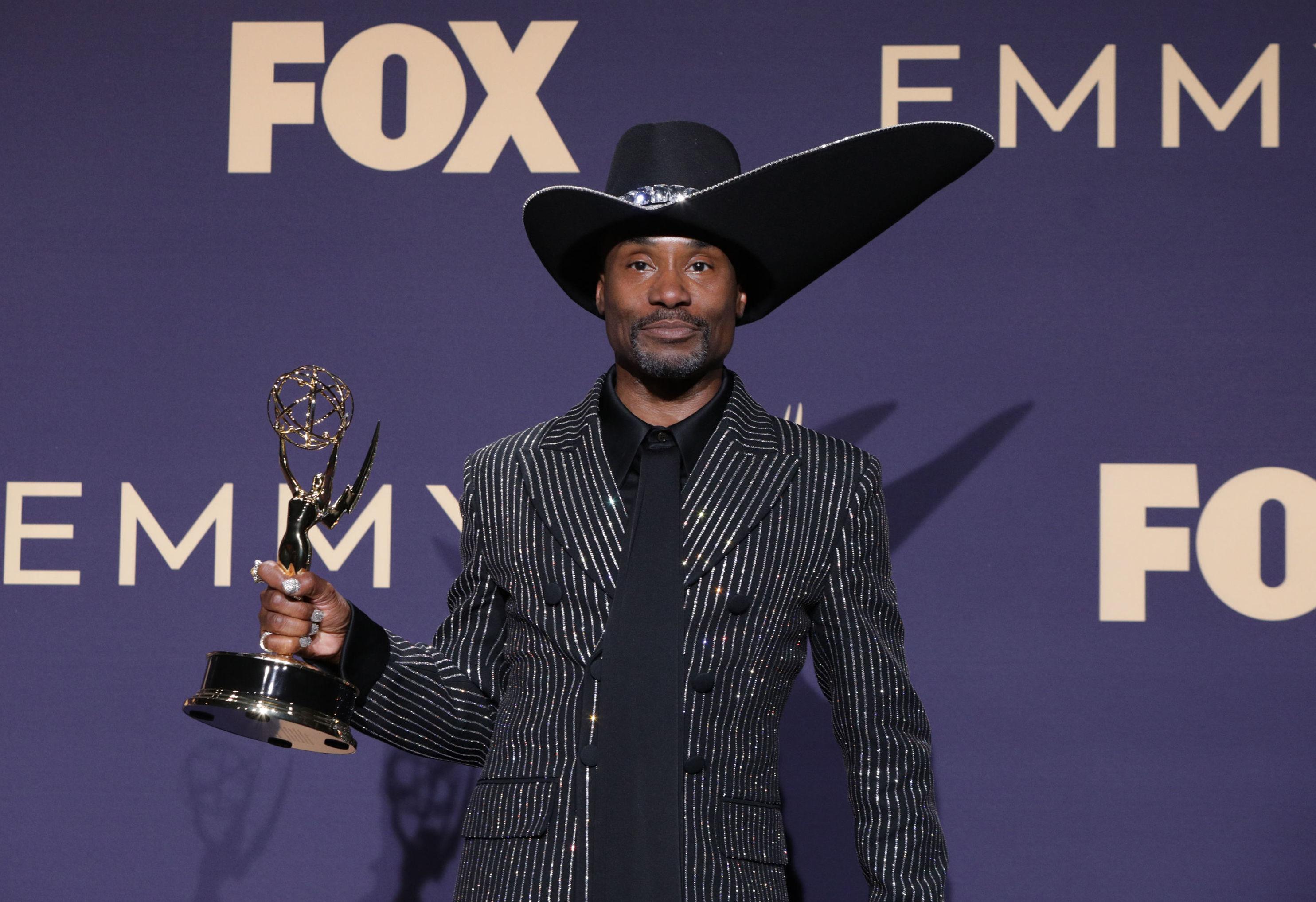 بيلي بورتر يفوز بجائزة أفضل ممثل درامي في حفل جوائز إيمي التلفزيونية الـ71، 22 سبتمبر/أيلول 2019