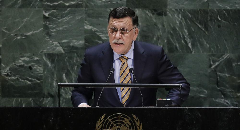 رئيس حكومة الوفاق في ليبيا فايز السراج