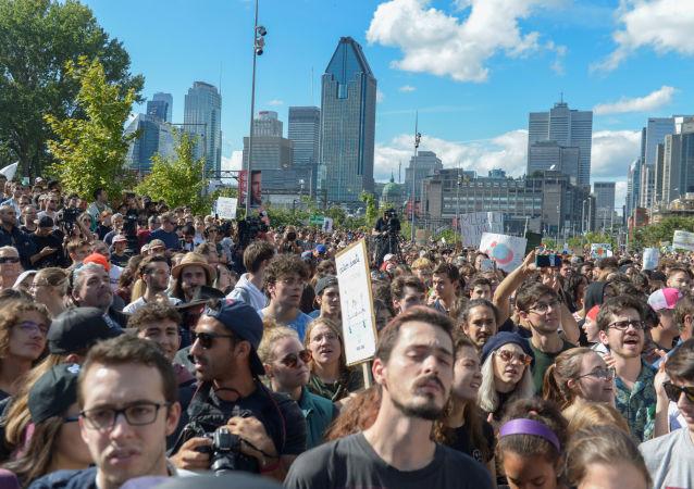 تظاهرات التغير المناخي في كندا