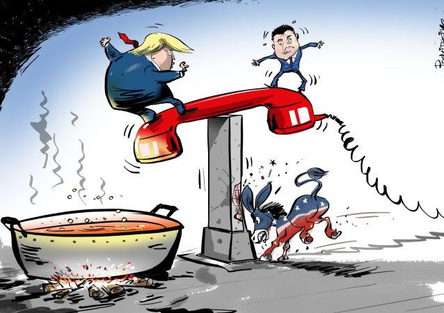 من شارك مكالمة ترامب مع الرئيس الأوكراني؟