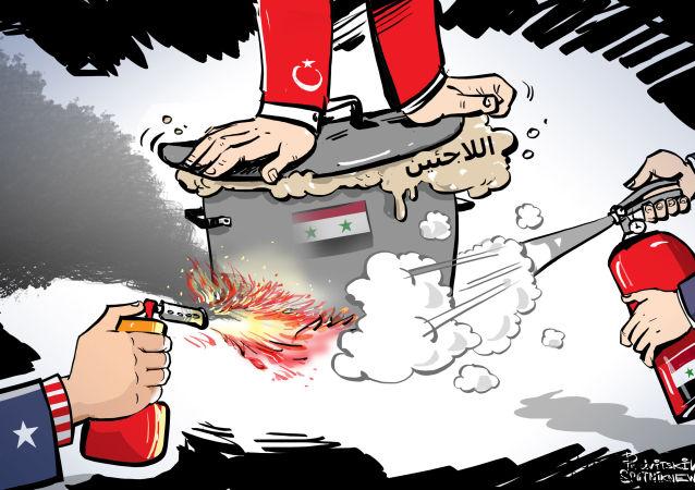 لا يمكن حل مشكلة اللاجئين إلا بالتعاون مع الحكومة السورية
