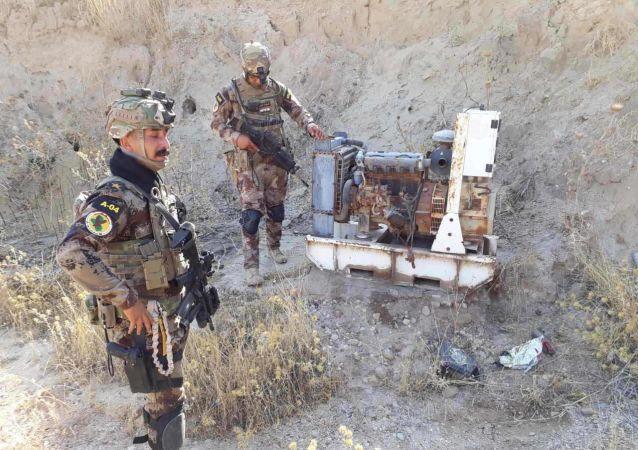 الأجهزة الأمنية العراقية في منطقة جبال حمرين شمال العراق