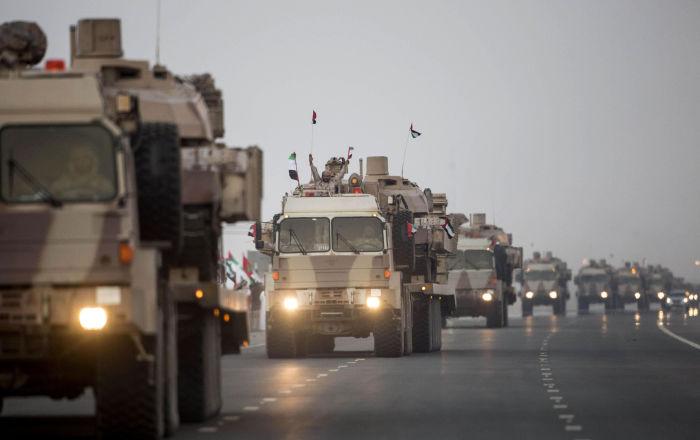 الجيش اليمني يتسلم من القوات الإماراتية مواقع شمال شرقي حضرموت