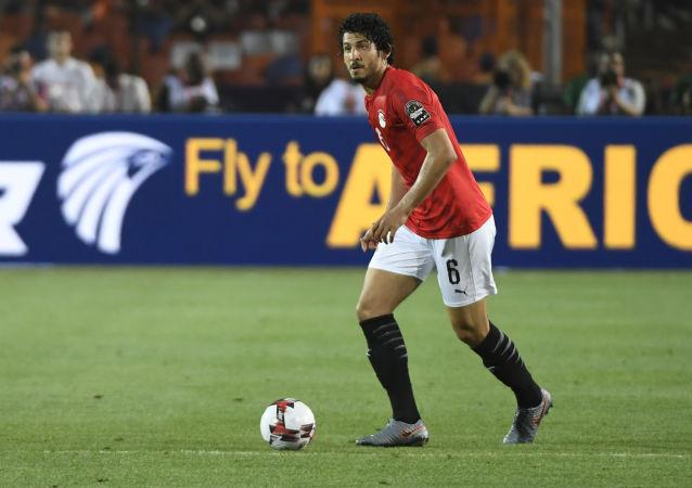 اللاعب المصري طارق حامد