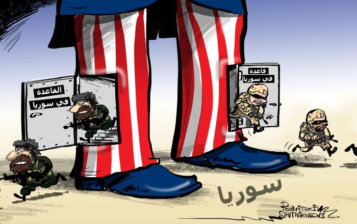 مرشحة للرئاسة تتهم السلطات الأمريكية باستخدام القاعدة في الحرب ضد الأسد