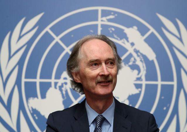 مبعوث الأمم المتحدة الخاص إلى سوريا، غير بيدرسون 24 أكتوبر 2019