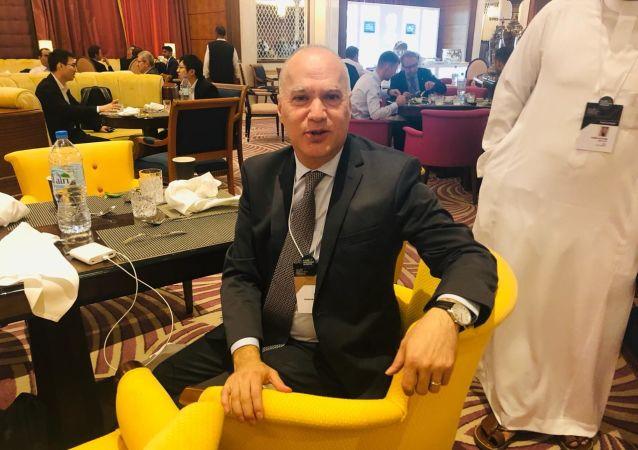 عصام أبو سليمان، نائب رئيس البنك الدولي، والمدير الإقليمي للبنك الدولي لدول مجلس التعاون الخليجي