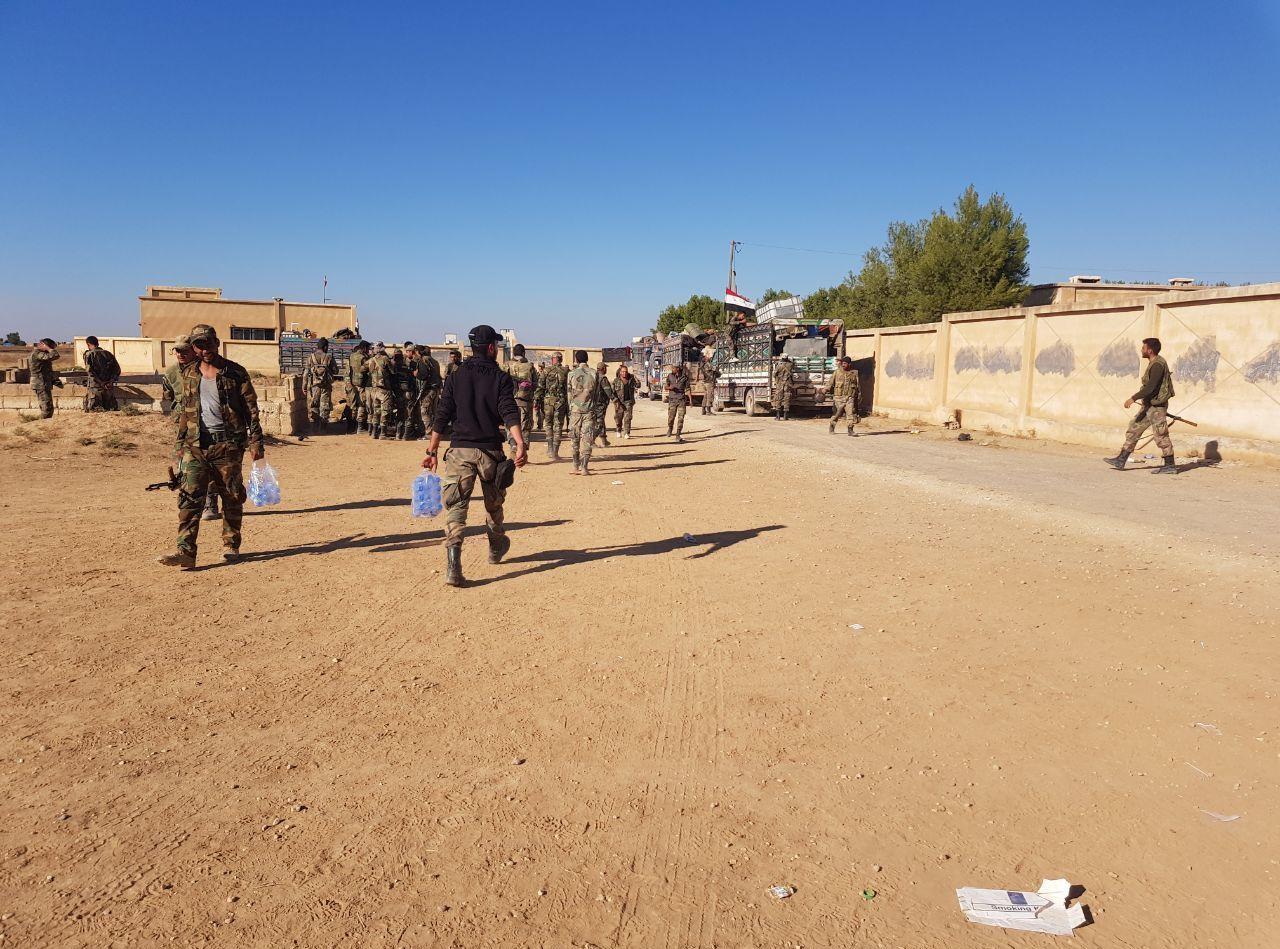 تعزيزات ثقيلة للجيش السوري