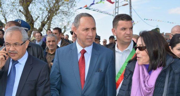 المرشح الجزائري للانتخابات الرئاسية عز الدين ميهوبي