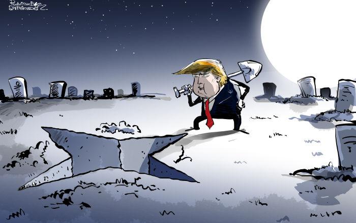 حلف الناتو آخذ في التلاشي