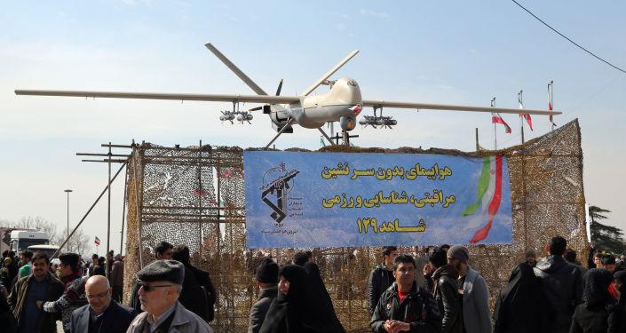 """خصائص الصاروخ الجديد للطائرة الإيرانية المسيرة """"كمان 12″… صور"""