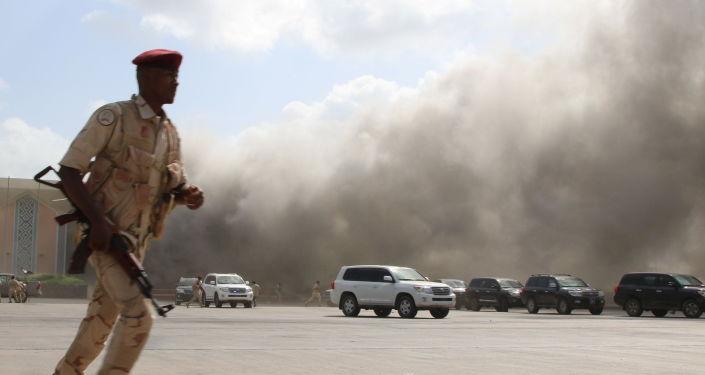 اليمن... جريح بإنفجار عبوة ناسفة شمالي عدن