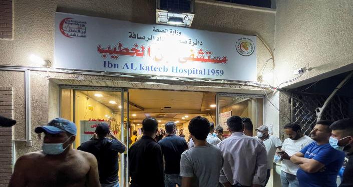 الداخلية العراقية تعلن مقتل 82 وإصابة 110 في حادثة حريق مستشفى الخطيب
