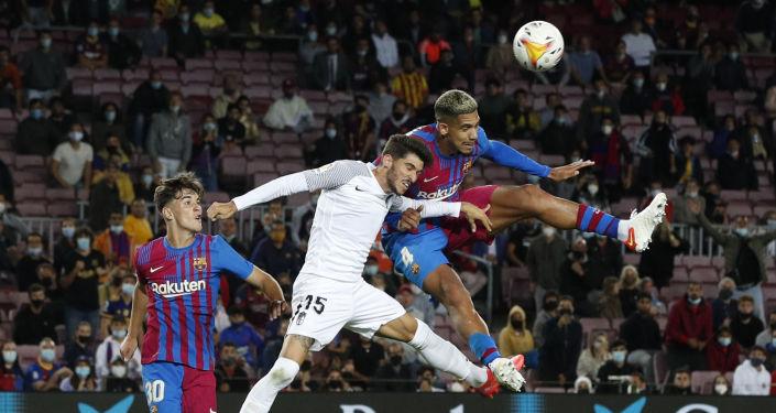 أهداف مباراة برشلونة وغرناطة المثيرة (1-1) في الدوري الإسباني.. فيديو