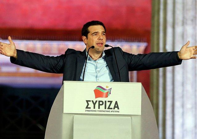 أليكسيس تسيبراس، قائد حزب سيريزا