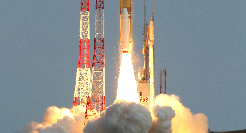 اليابان تطلق قمراً صناعياً جديداً