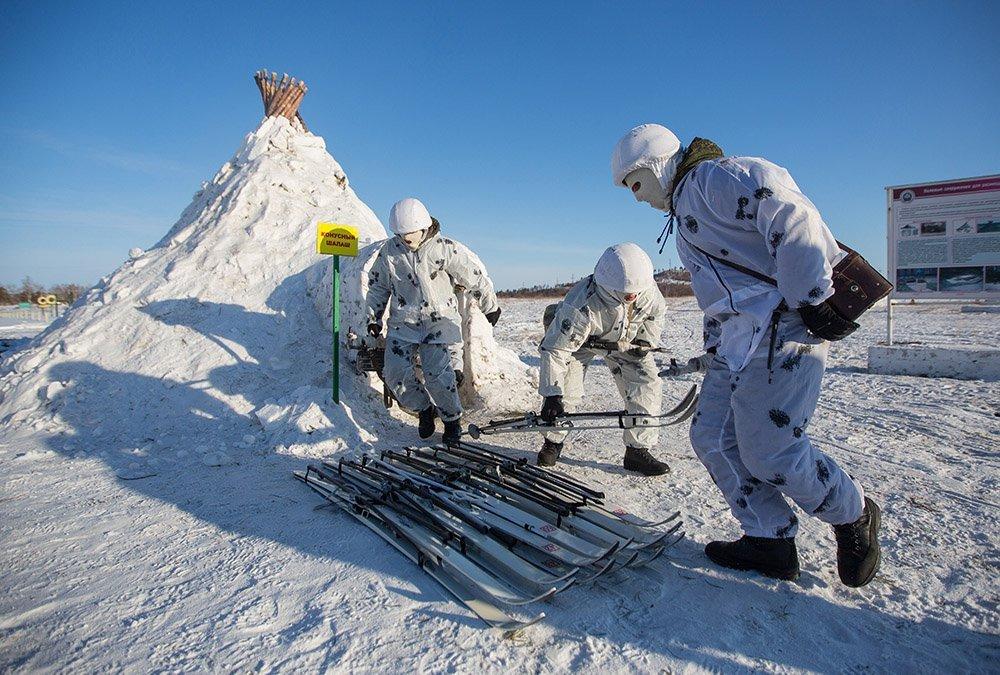 المجموعة العسكرية الروسية الوحيدة في القطب الشمالي