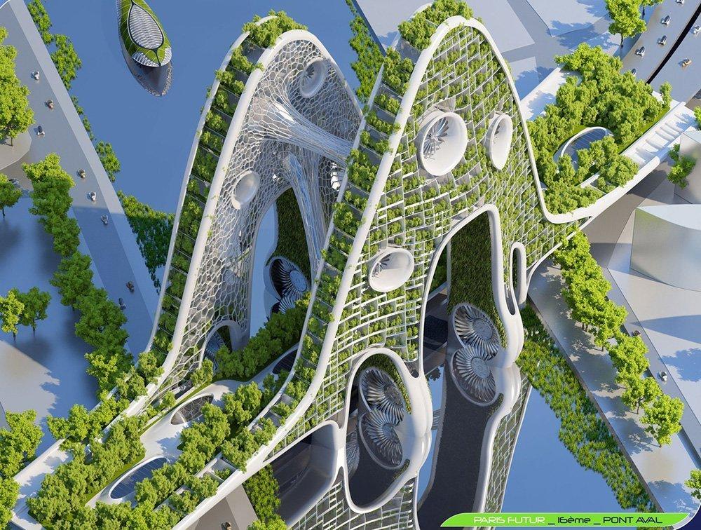 مدينة باريس في 2050