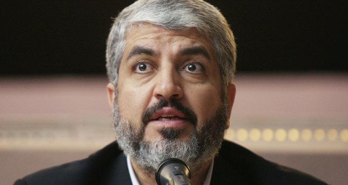 رئيس المكتب السياسي لحركة حماس خالد مشعل