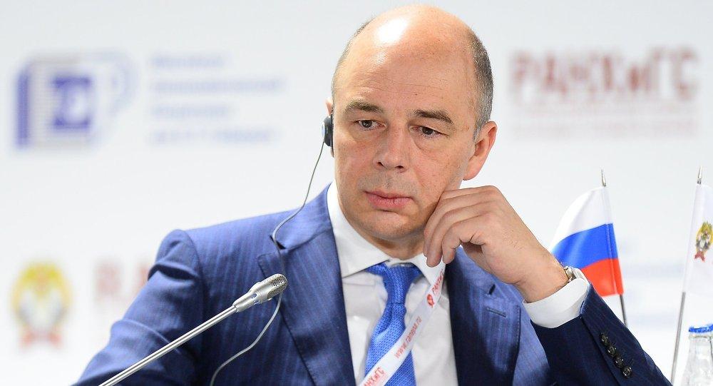 وزير المالية الروسي أنتون سلوانوف