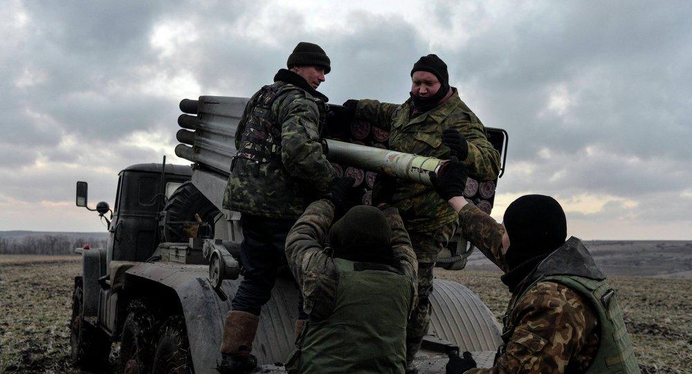 مقاتلون أوكرانيون