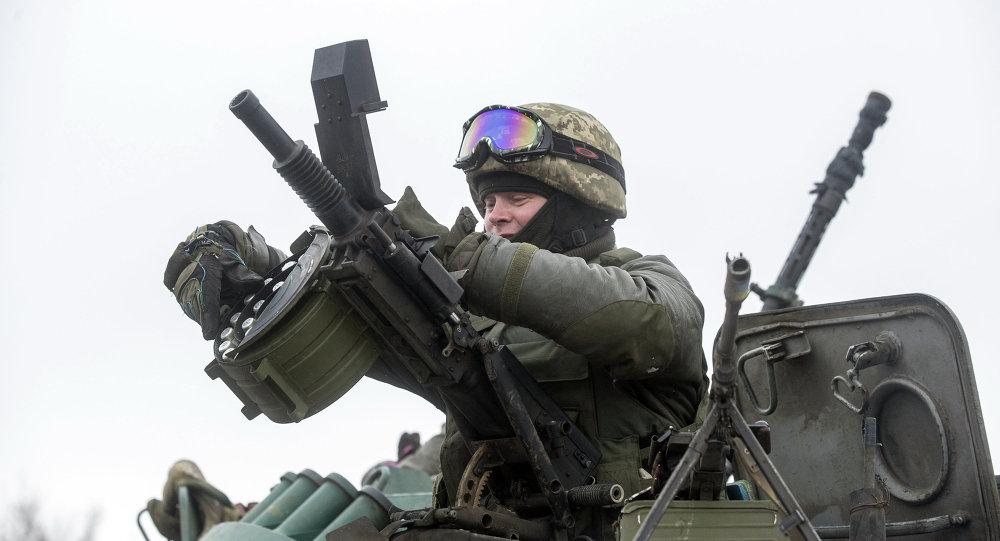 مقاتل أوكراني