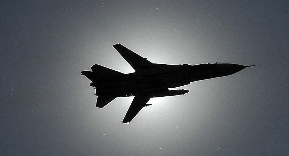 طائرة سو-24. صورة أرشيفية